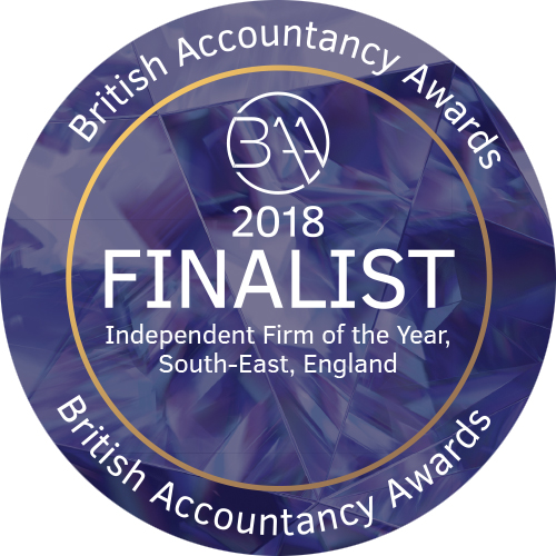 British Accountancy Awards 2018 Finalist