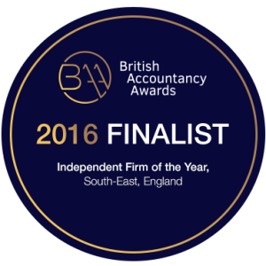 British Accountancy Awards 2016 Finalist