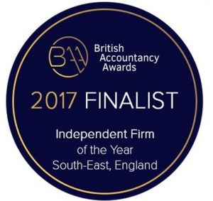 British Accountancy Awards 2017 Finalist